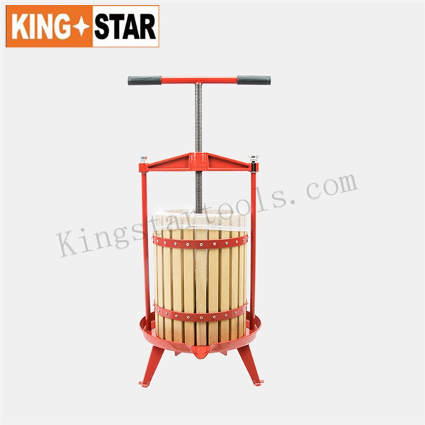 12L Basket Fruit Press with T handle