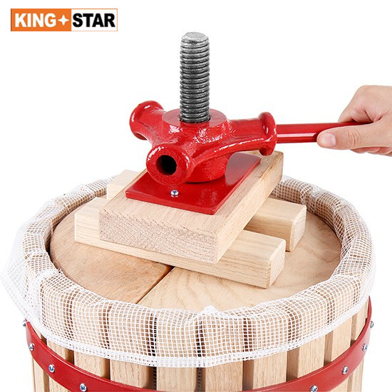 6L Basket Fruit press