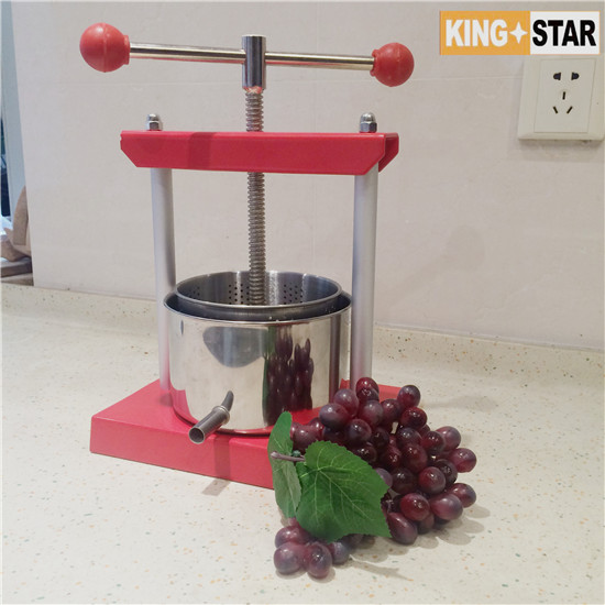 6L Stainless steel Fruit Press