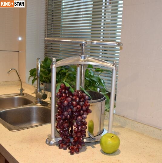 6L Aluminum Fruit Press