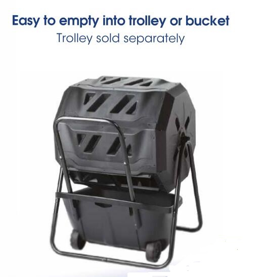 160L Tumbling Composter